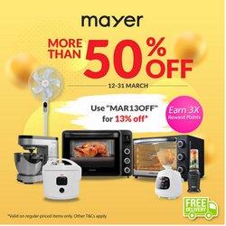 Mayer catalogue ( Expired )