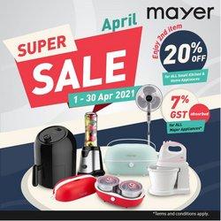 Mayer catalogue ( 7 days left )