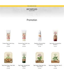 Offers from Skinfood in the Singapore leaflet