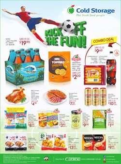 Supermarkets offers in the Cold Storage catalogue in Singapore