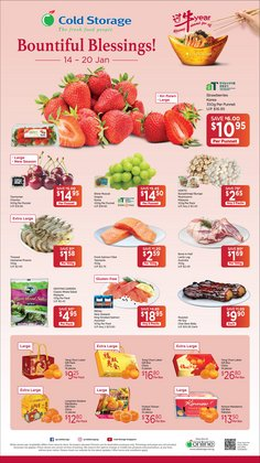Supermarkets offers in the Cold Storage catalogue in Singapore ( 2 days left )