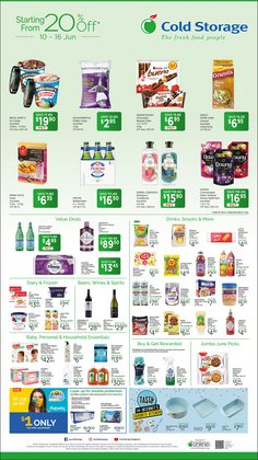 Supermarkets offers in the Cold Storage catalogue ( Expires Today)