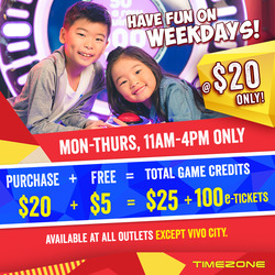 Offers from Timezone in the Singapore leaflet
