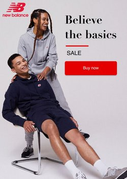 New Balance offers in the New Balance catalogue ( 28 days left)