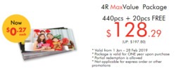 Offers from Foto Hub in the Singapore leaflet
