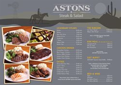 Offers from Astons in the Singapore leaflet