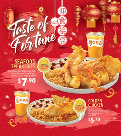 Offers from Long John Silver's in the Singapore leaflet
