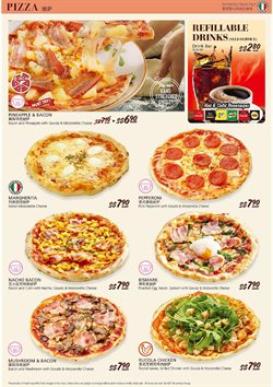 Offers from Saizeriya in the Singapore leaflet