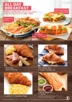 Offers from Délifrance in the Singapore leaflet