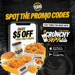 Texas Chicken offers in the Texas Chicken catalogue ( 7 days left)