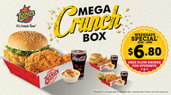 Offers from Texas Chicken in the Singapore leaflet