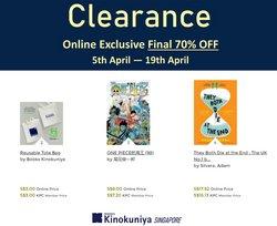 Kinokuniya catalogue ( Expires tomorrow )