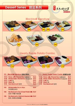 Offers from BlackBall in the Singapore leaflet