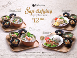 Offers from Thai Express in the Singapore leaflet