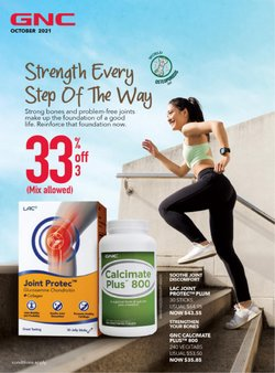 Beauty & Health offers in the GNC catalogue ( 13 days left)