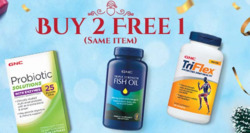 Offers from GNC in the Singapore leaflet