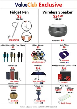 Electronics & Appliances offers in the Challenger catalogue in Singapore