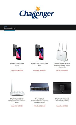 Electronics & Appliances offers in the Challenger catalogue ( 10 days left )