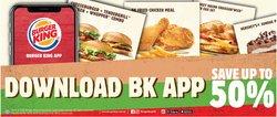 Burger King catalogue ( 20 days left )