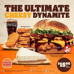 Restaurants offers in the Burger King catalogue ( 4 days left)