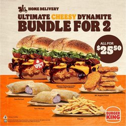 Restaurants offers in the Burger King catalogue ( 2 days left)