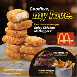 McDonald's catalogue ( 20 days left )