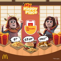 Restaurants offers in the McDonald's catalogue ( 4 days left)