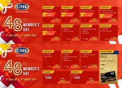 Travel & Leisure offers in the CARs International catalogue ( 4 days left)