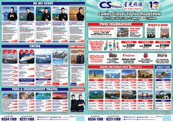 Offers from CS Travel in the Singapore leaflet
