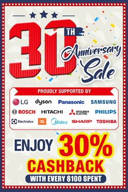 Electronics & Appliances offers in the Audio House catalogue in Singapore