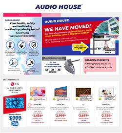 Audio House catalogue in Singapore ( Expired )