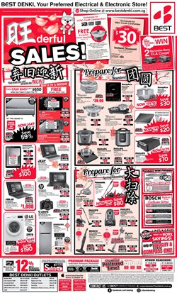 Electronics & Appliances offers in the Best Denki catalogue in Singapore