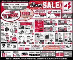 Offers from Best Denki in the Singapore leaflet