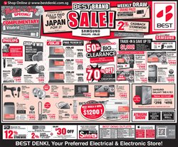 Bedok Mall offers in the Best Denki catalogue in Singapore