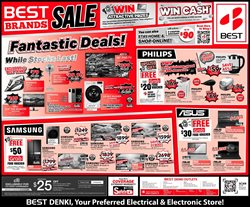 Electronics & Appliances offers in the Best Denki catalogue in Singapore ( More than a month )