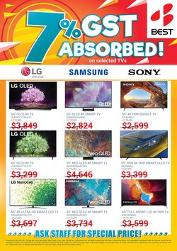 Electronics & Appliances offers in the Best Denki catalogue ( Expires Today)