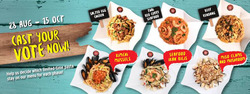 Offers from Pastamania in the Singapore leaflet