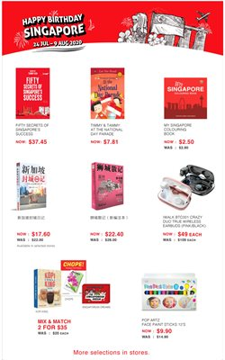 Travel & Leisure offers in the Popular catalogue in Singapore ( Expires tomorrow )