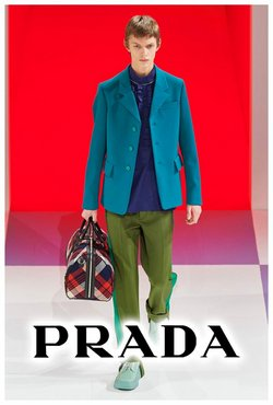 Prada catalogue in Singapore ( More than a month )