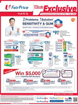 Supermarkets offers in the FairPrice catalogue in Singapore ( 7 days left )