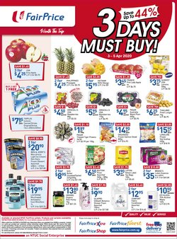 FairPrice catalogue ( Expires tomorrow)