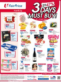 FairPrice catalogue ( Expires tomorrow )