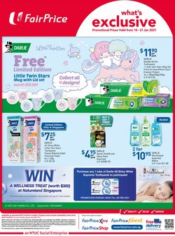 Supermarkets offers in the FairPrice catalogue ( Published today )