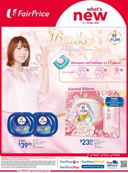 season offers in the FairPrice catalogue ( 10 days left)