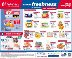 FairPrice catalogue in Singapore ( 1 day ago )
