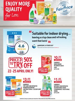 FairPrice catalogue in Singapore ( 2 days left )