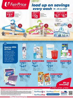 FairPrice offers in the FairPrice catalogue ( 7 days left)