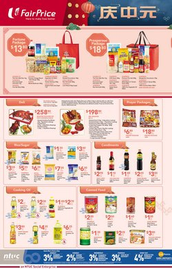 FairPrice offers in the FairPrice catalogue ( More than a month)