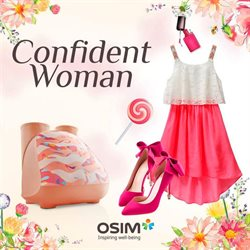 Offers from OSIM in the Singapore leaflet