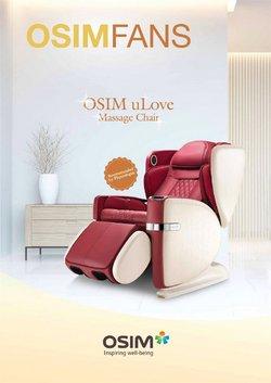 OSIM catalogue in Singapore ( Expired )
